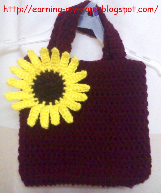 Quick Crochet Toddler Tote (Free Pattern)