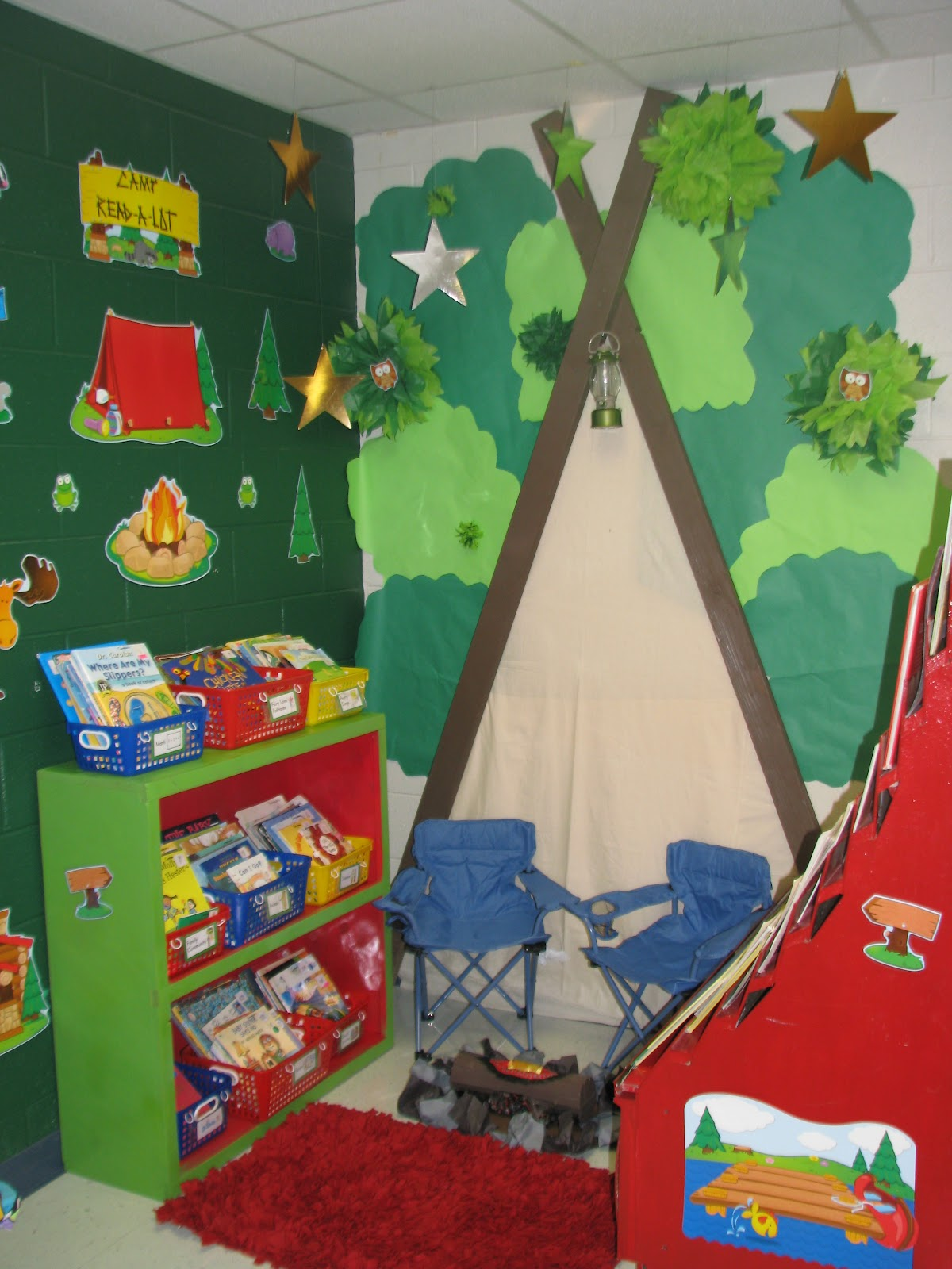 Camping Themed Classroom Decorations ~ Wills valley kinderkats updated for classroom photos