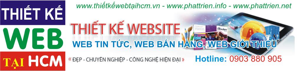 Thiết kế web tại HCM