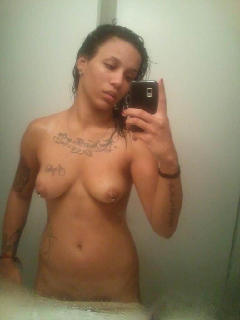 Naked Latina Girl Selfshot porn