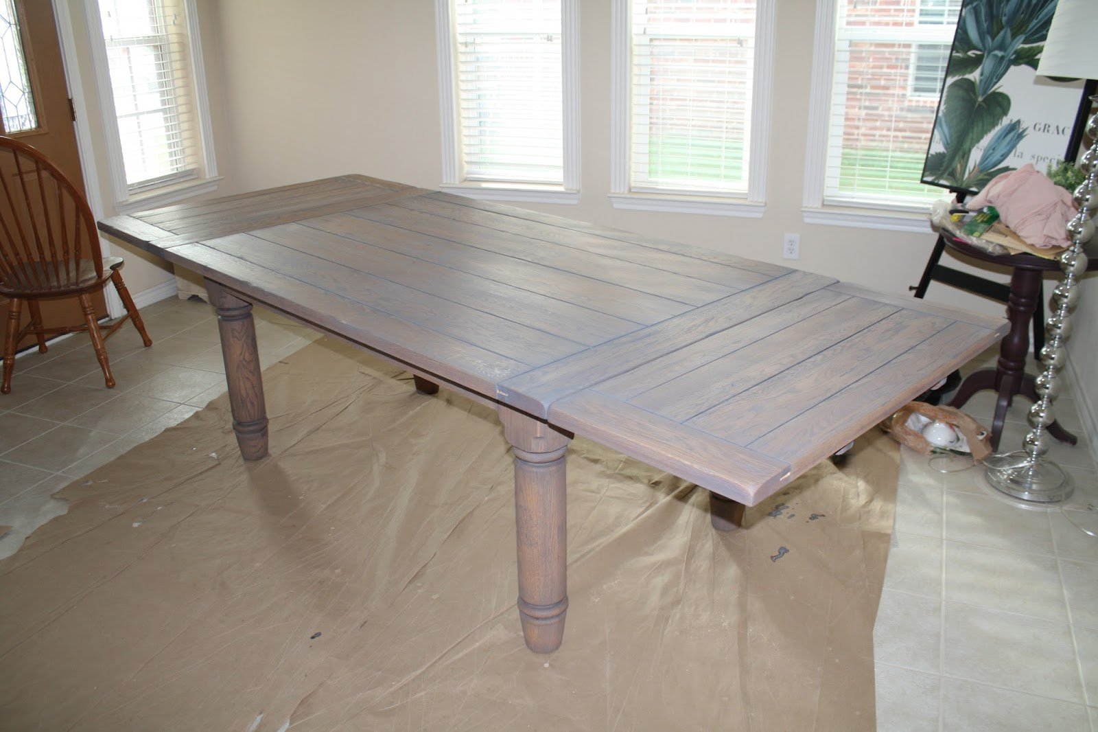 Table With Classic Gray Stain