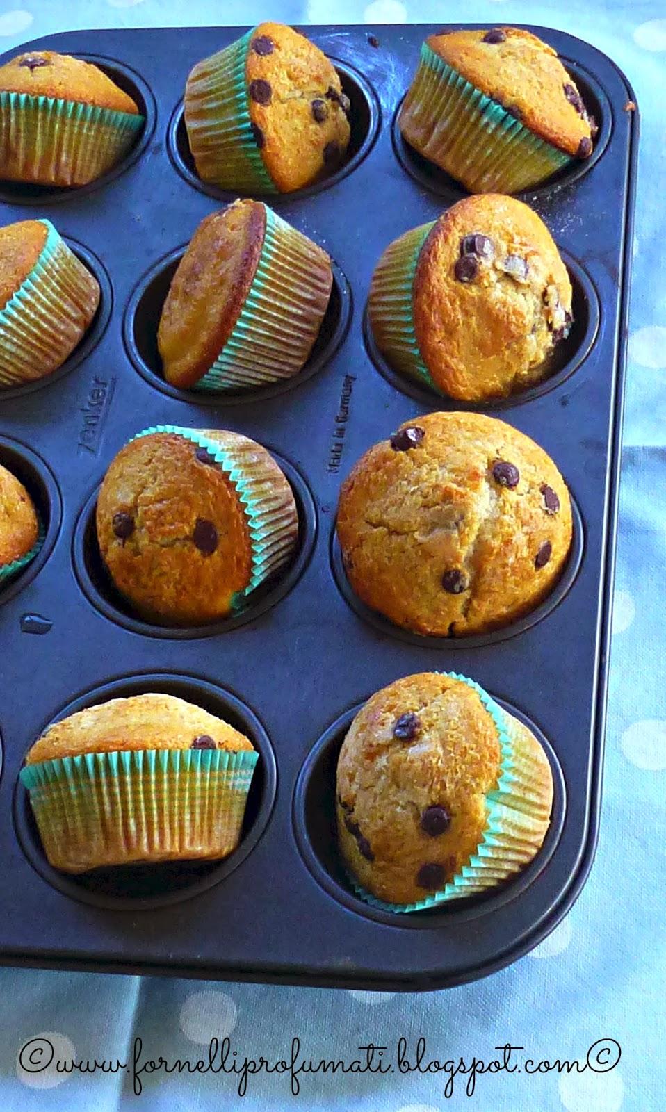 muffin allo yougurt - cioccocaffè