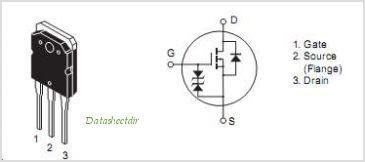 2SK1058 Pin Diagram