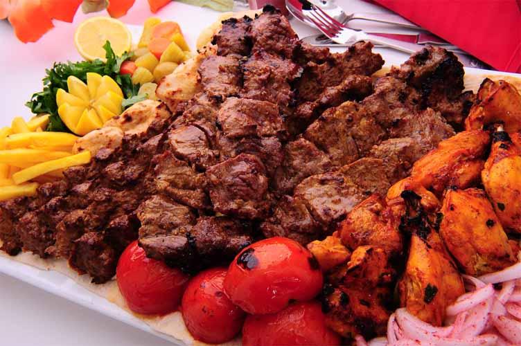 انواع تزیین های کباب تابه ای زیبا جالب خاطرات و نظرات یک ایرانی ساکن لبنان: غذاهای لبنانی