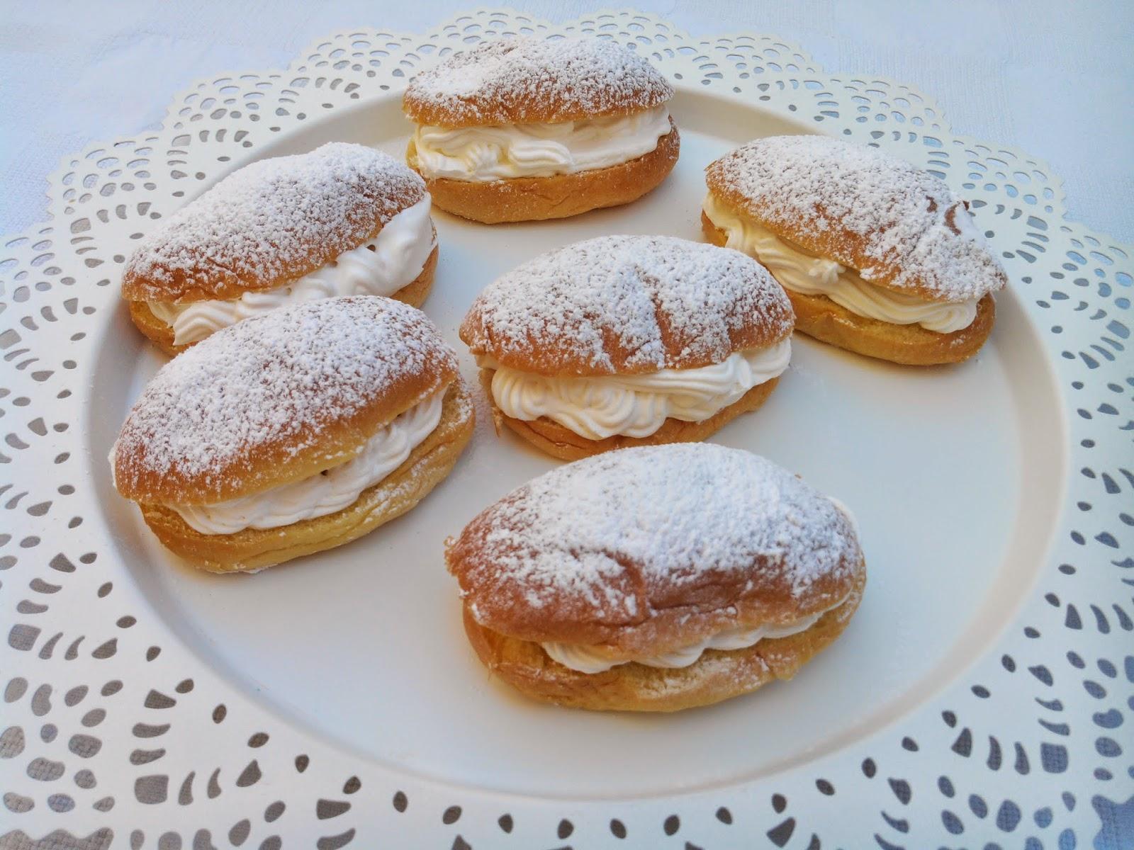 Las recetas de mirieta pastelitos de nata express - Nata liquida para postres ...