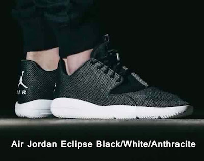 Air Jordan Eclipse Black/White/Anthracite