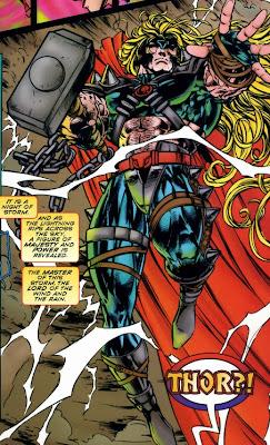 Thor Avengers Crossing
