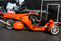 Campagna T-Rex Orange Motorcycle Base Model