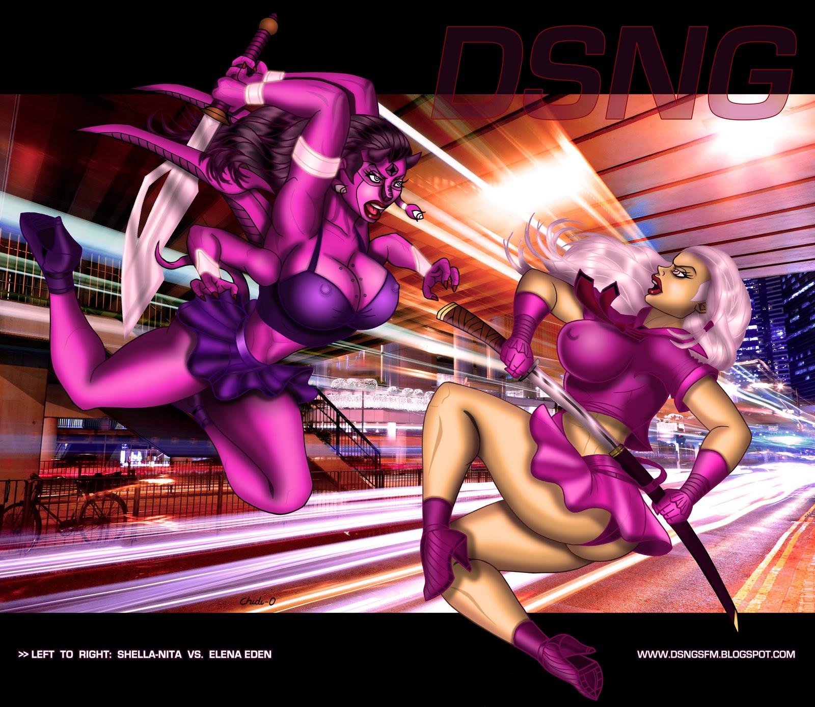 Erotic comics sci fi