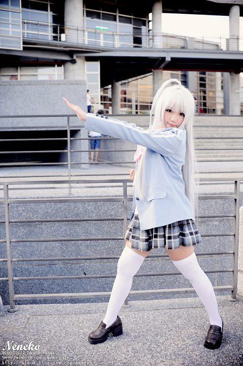 CosRain.Com Neneko's COSPLAY - Haiyore! Nyaruko-san