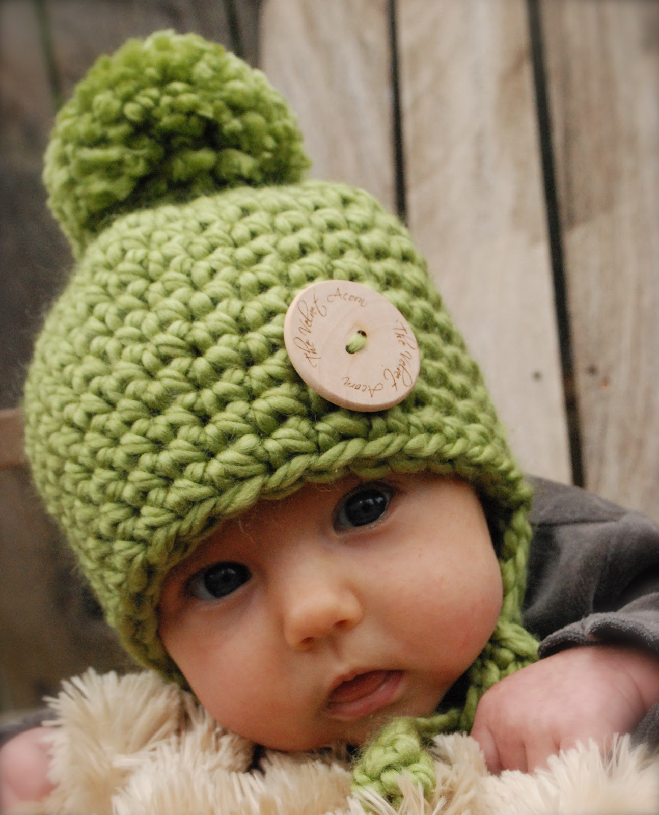 Knitting Pattern For Acorn Hat : The Velvet Acorn: New baby collection hat!