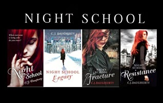 Win 4 books in CJ Daugherty's Night School Series!