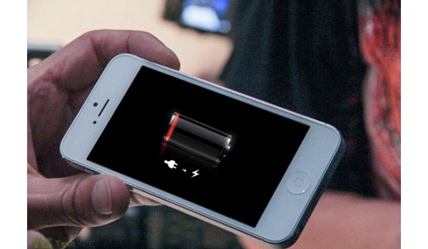 Uncharged iPhone