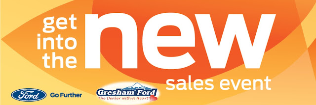 Get Into The New Sales Event at Gresham Ford