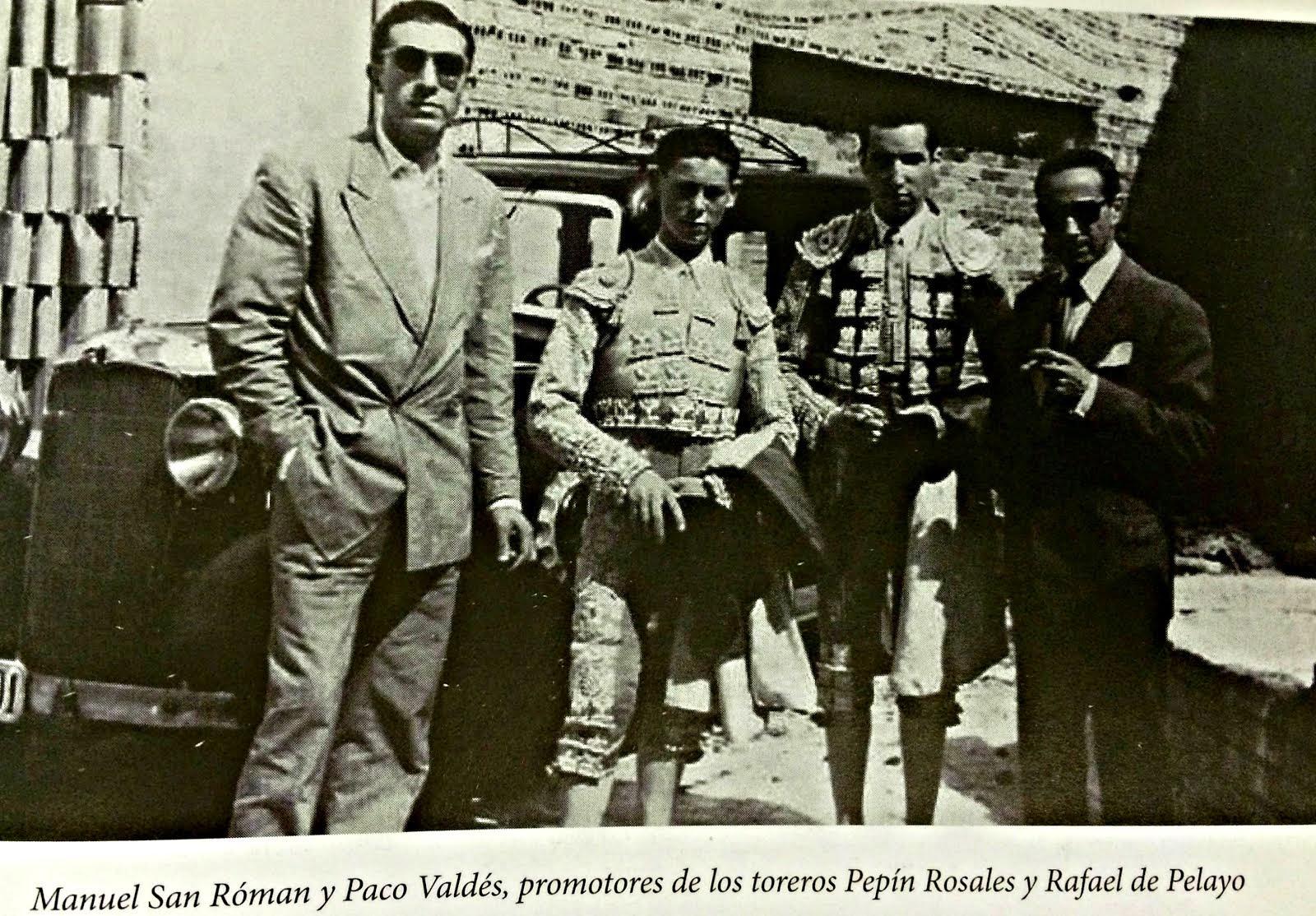Manuel San Roman y Paco Valdes