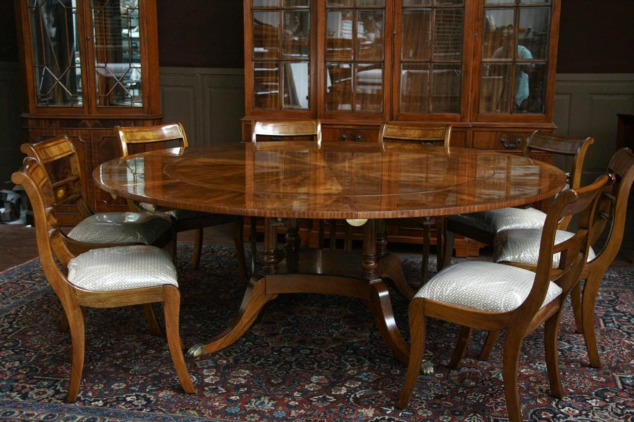 60 Round Dining Table Mahogany Rock Solid