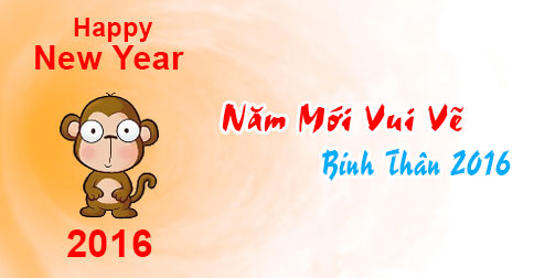Ảnh chúc năm mới vui vẻ dễ thương nhất 2016