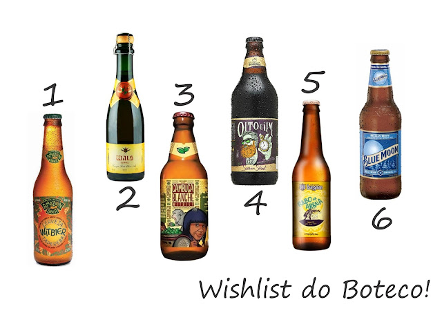 Wishlist do Boteco