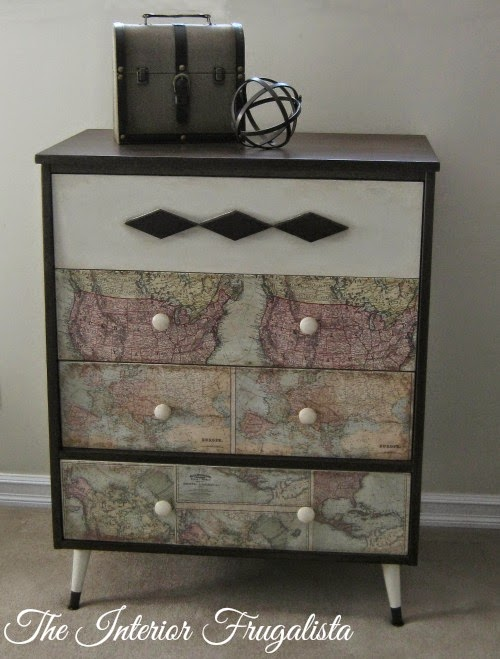 MCM Dresser Makeover After