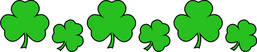 Gratifying image regarding free printable clipart for st patrick's day