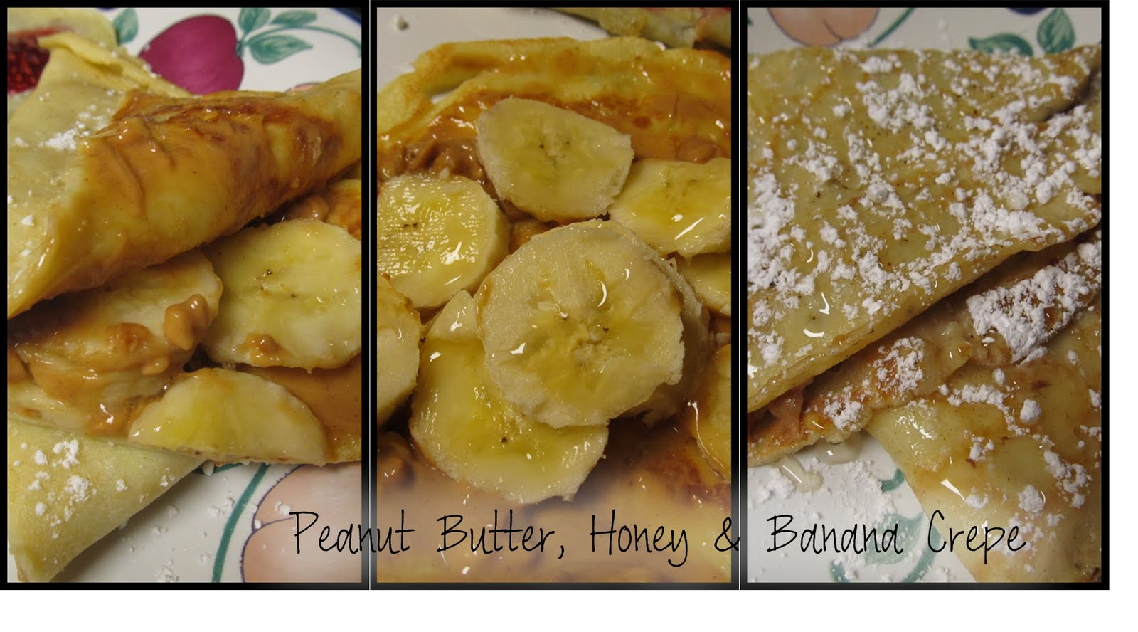 WOW, Peanut Butter, Honey & Banana.