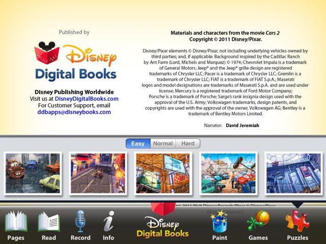 Disney Musings Cars 2 Storybook Deluxe Review