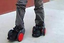 حذاء يسير بسرعة 15 كيلو متر في الساعة-منتهى