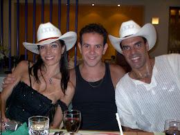 Junto a Mora Godoy y Junior Cervila