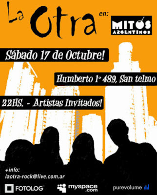 """Buitre y La Otra en """"Mitos Argentinos"""" II"""