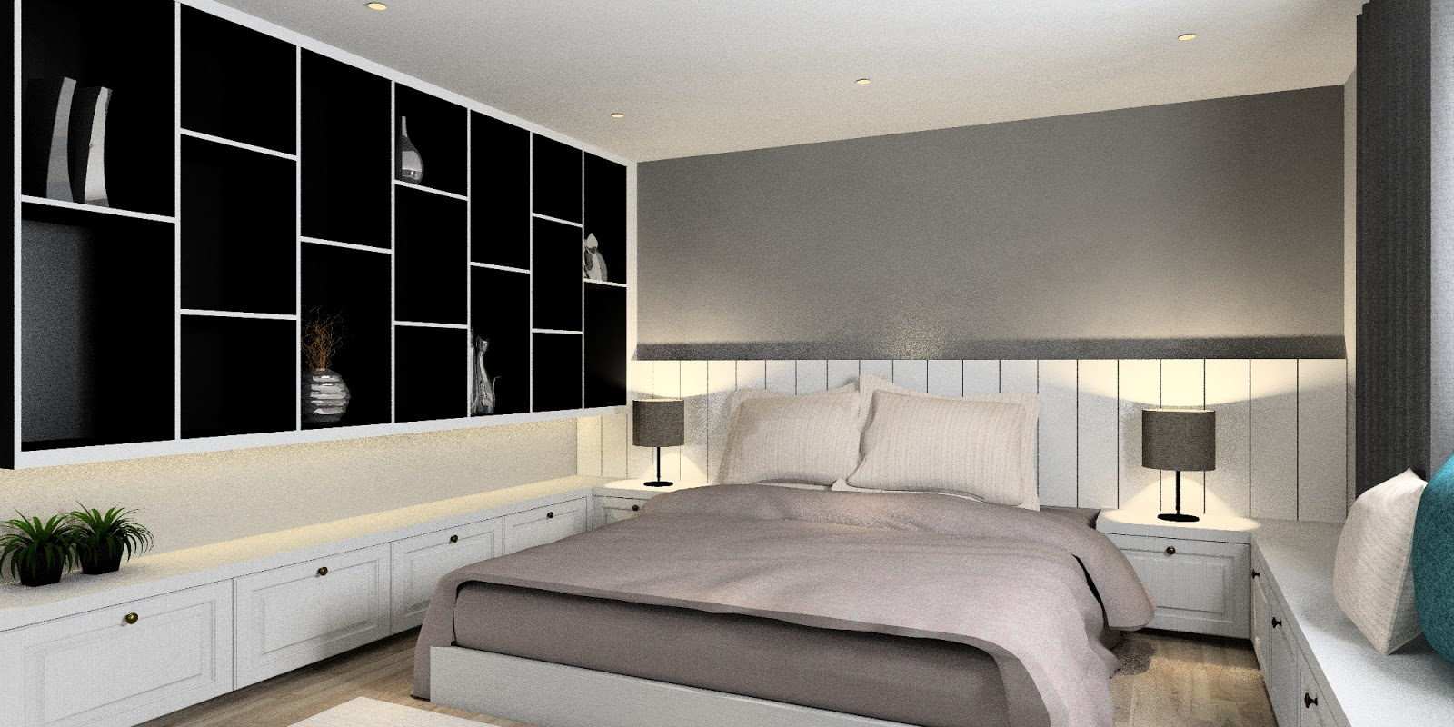 Meridian interior design and kitchen design in kuala for Bedroom design malaysia