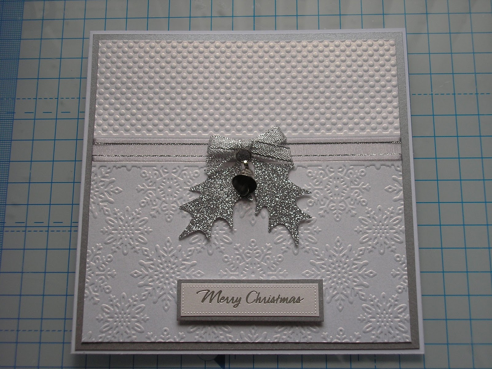Gill Bottomley: Embossed Christmas Card - Crafters Companion Monthly ...