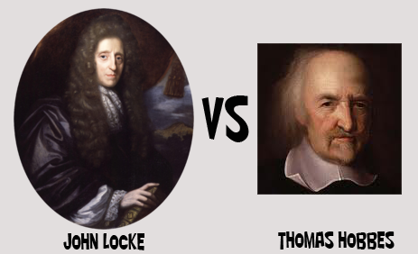 thomas hobbes and john locke essays