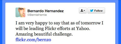 Bernardo Hernandez message on Twitter