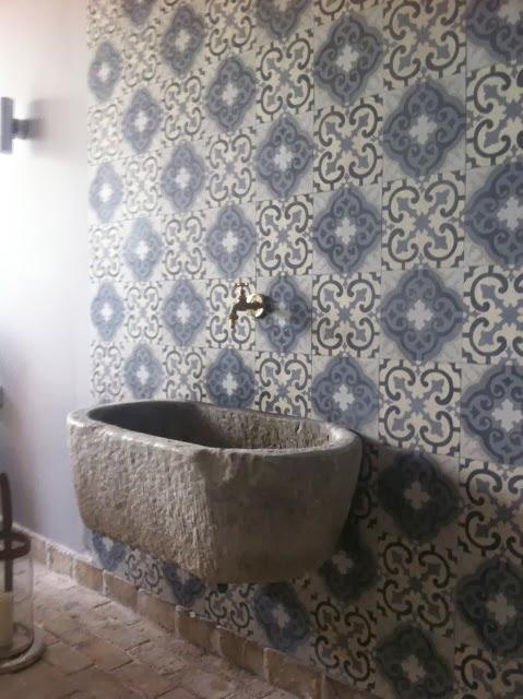 bagno Cementine disegno : Il Giardino del Brocante: Mattonelle cementine