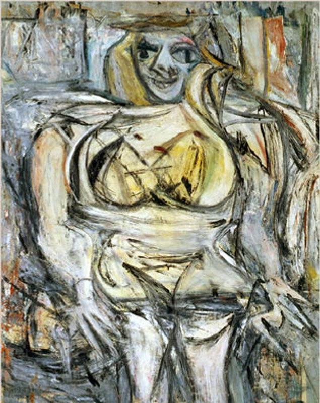 Виллем де Куннинг Женщина - III, 1953