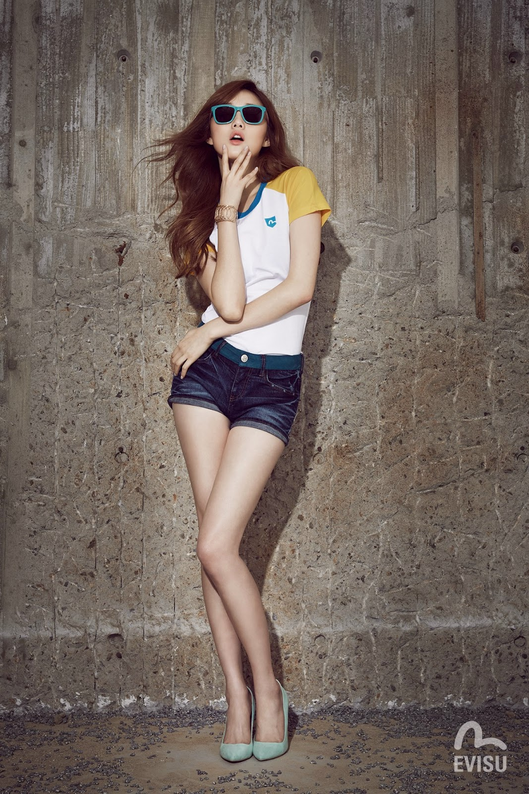Lee Sung Kyung - Evisu Spring/Summer 2014
