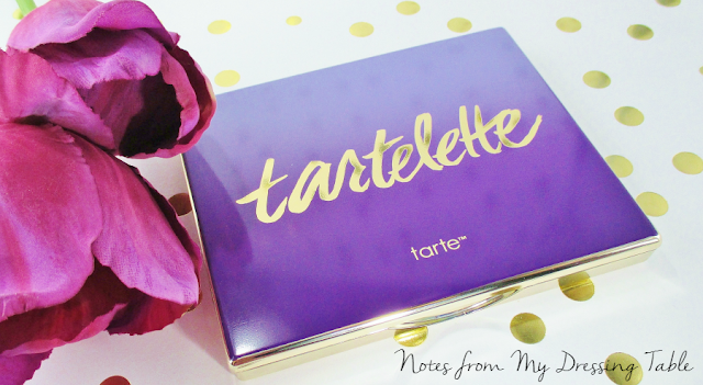 tarte tartelete amazonian clay matte eye shadow palette my thoughts notes from my dressing table