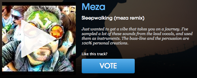 The Chain Gang of 1974 - Sleepwalking (meza remix)