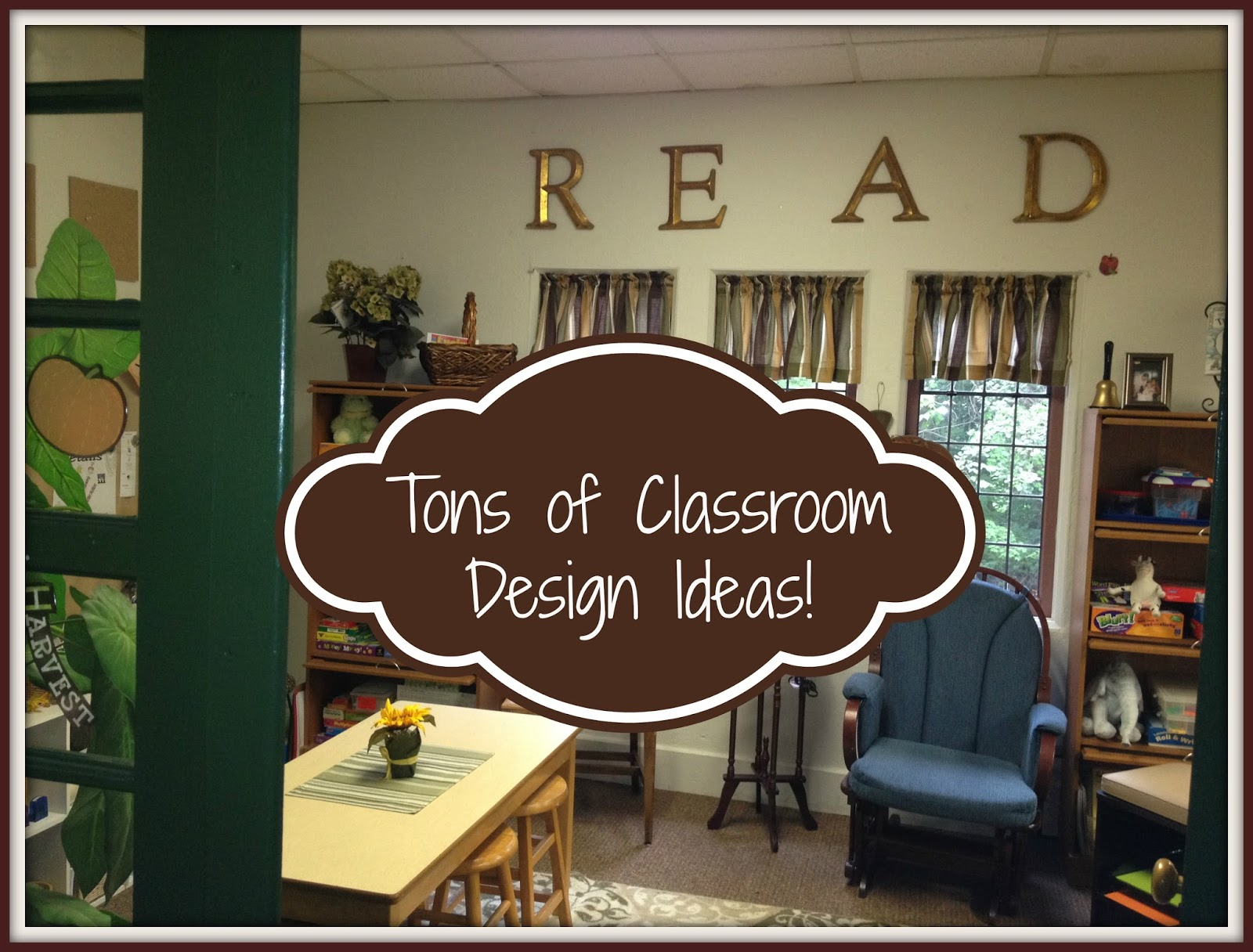 Unique Classroom Design Ideas ~ Tons of classroom design ideas for setting up your cozy