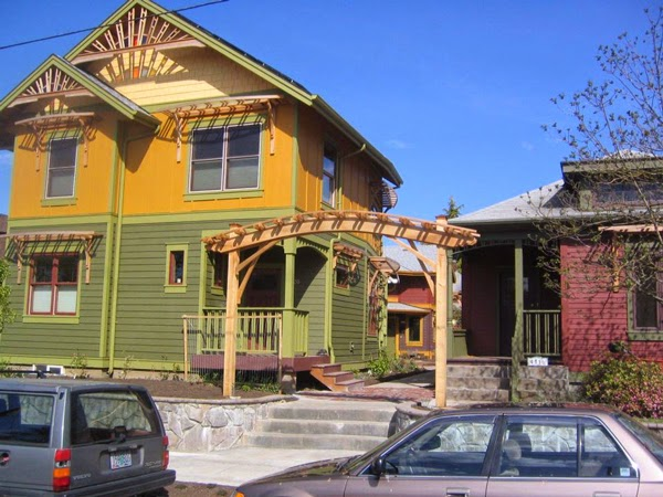 co-housing development in Portland