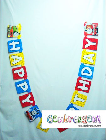 LETTER BANNER HB THOMAS AND FRIENDS