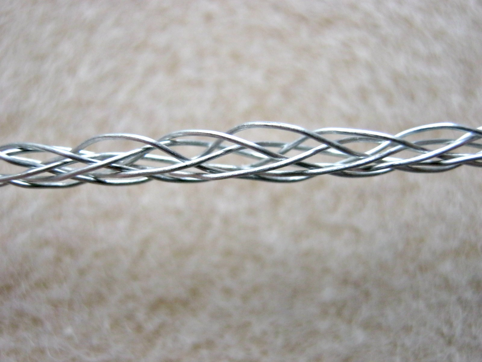 Northwoods Creative Studio: Plaiting with wire, an experiment