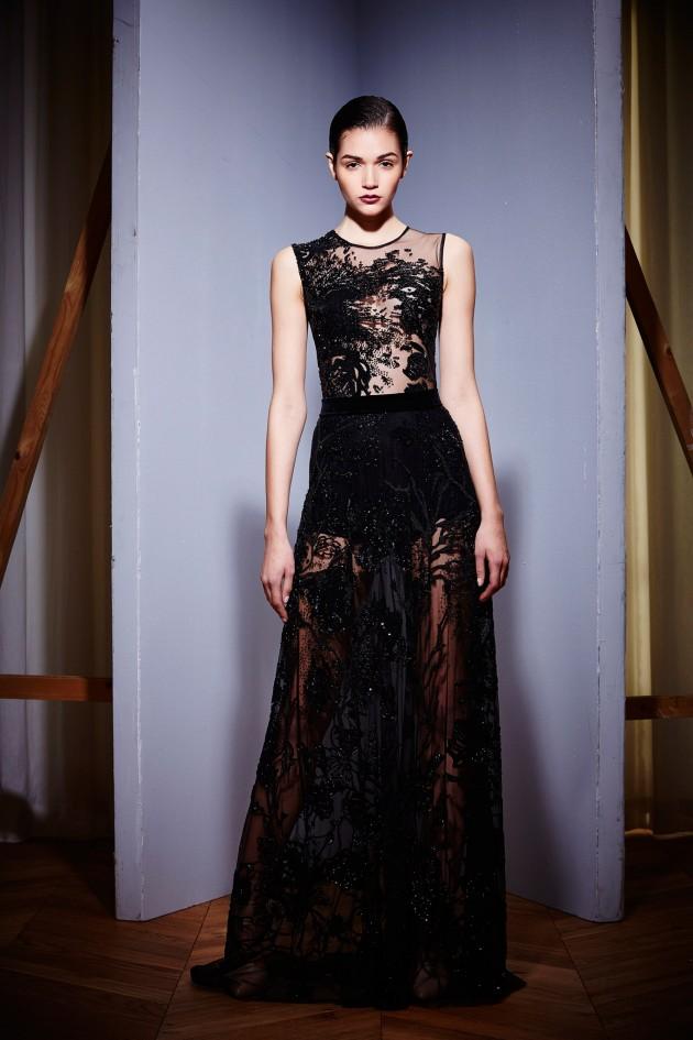 Modas de vestido de noche