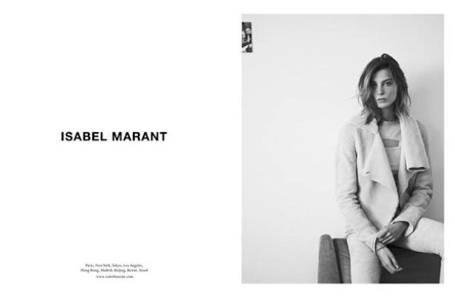 ISABEL MARANT AND DARIA WERBOWY