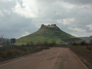 Campechos, Castillo de la Estrella, Montiel, Campo de Montiel, Ciudad Real, Castilla la Mancha, Spain