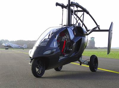 vehículo volador