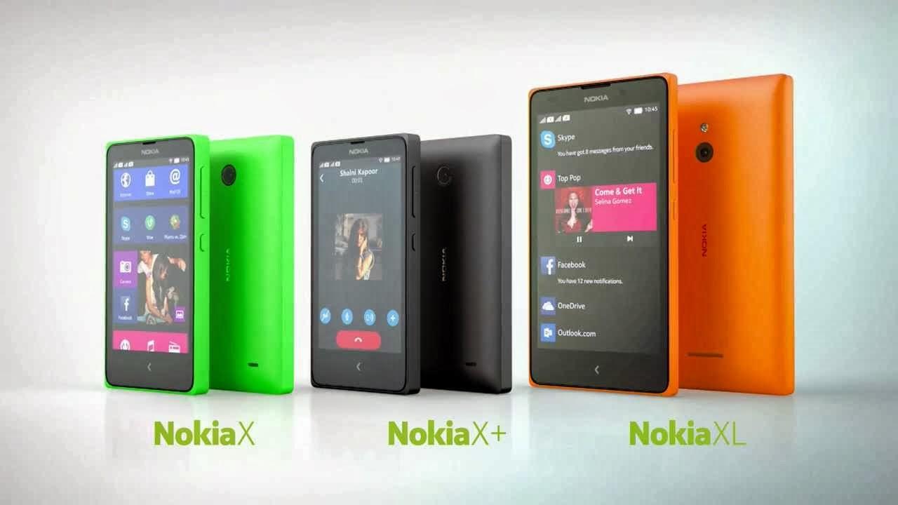 Nokia X, X+, XL