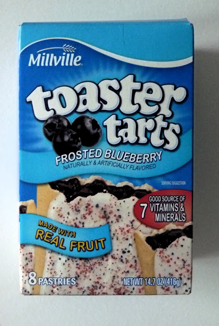 Millville Frosted Blueberry Toaster Tarts | Aldi Product Reviews