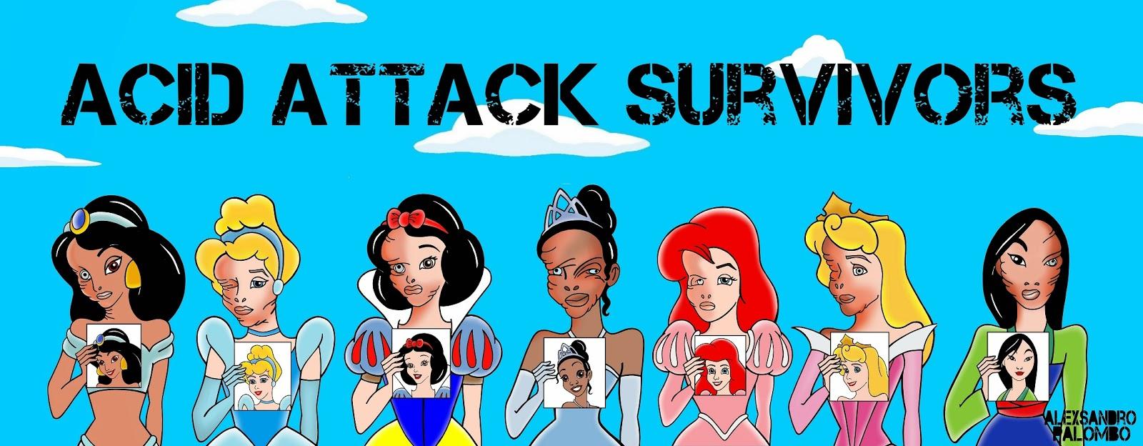 "Humor Chic: ART ""Disney Princesses as Acid Attack Survivors"" # ..."