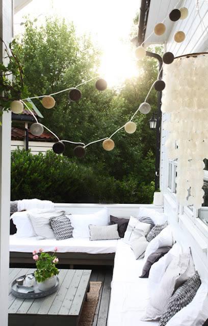 outdoor summer spaces